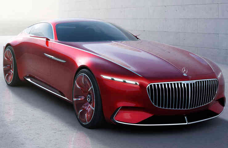DESTAQUE Mercedes Vision Maybach 1