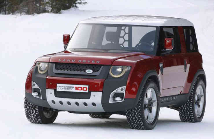DESTAQUE land rover defender 2