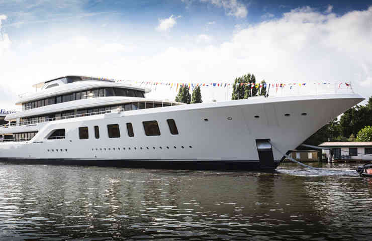 DESTAQUE Aquarius novo super iate 92 Feadship 2