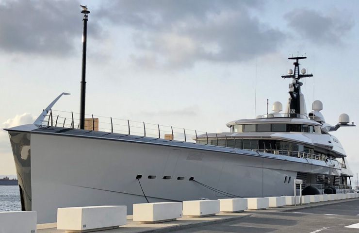 BravoEugenia 109m new Superyacht owned by Texas Billionaire Jerryjones owner of DallasCowboys