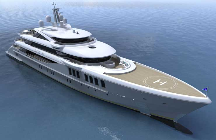 30344 benetti launches james bond inspired spectre DESTAQUE