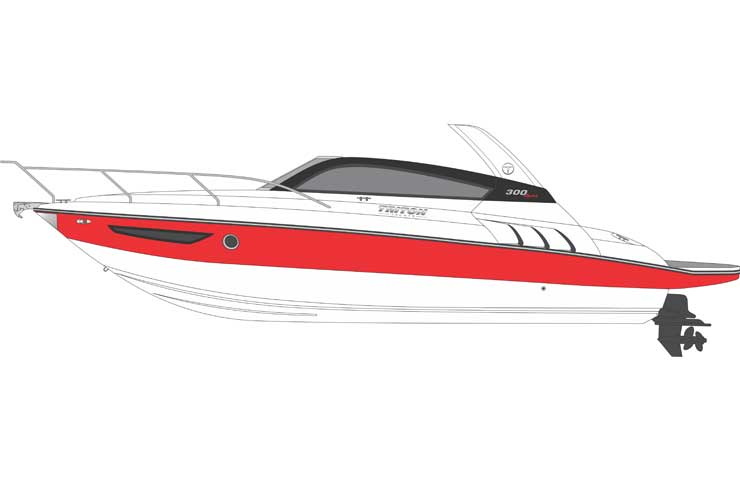 Triton 300 Sport vista lateral DESTAQUE